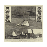 White Wings, Yachting Sketches Off the South Coast Giclee Print by Joseph Nash