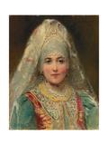 Boyarina Giclee Print by Konstantin Egorovich Makovsky