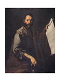 A Philosopher, C.1640 Giclée-tryk af Jusepe de Ribera