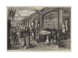 La Rue De Russie in the Paris Exhibition Giclee Print by Jules Pelcoq