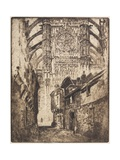 Rose Window, Beauvais, 1907 Giclee Print by Joseph Pennell