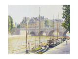 Pont Neuf Giclee Print by Julian Barrow