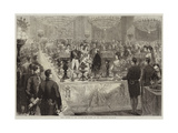 Ball Supper in the Galerie De Diane, at the Tuileries Giclee Print by Jules Pelcoq
