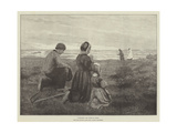 Viaticum, from the Picture in the Royal Academy Exhibition Giclee Print by Julius Mandes Price