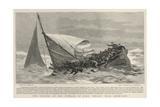 The Sinking of the Pinnace of H M S Edgar Near Chemulpo Giclee Print by Joseph Nash