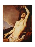 St. Sebastian Giclée-tryk af Jusepe de Ribera