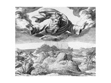 The Third Day of Creation, 1794 Giclee Print by Julius Schnorr von Carolsfeld
