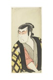 An Actor in Beni Guma Makeup Giclee Print by Katsukawa Shunsho