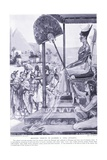 Bringing Tribute to Ramses II (XIX Dynasty), C.1920 Giclee Print by Joseph Ratcliffe Skelton