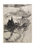 Le Puy, Third Plate, 1894 Giclee Print by Joseph Pennell