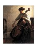 The Cellist, 1908 Wydruk giclee autor Joseph Rodefer De Camp