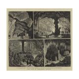 The Cave of Adelsberg, Austria Giclee Print by Joseph Nash