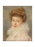 Portrait of an Elegant Woman Giclee Print by Konstantin Egorovich Makovsky