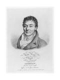 Portrait of Pascal Joseph François Gosselin, 1821 Giclee Print by Julien Leopold Boilly