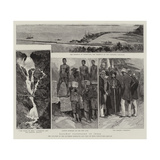 Railway Extension in India Giclee Print by Joseph Nash