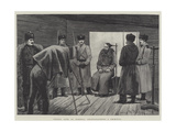 Prison Life in Siberia, Photographing a Criminal Giclee Print by Julius Mandes Price
