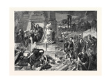 Nero after the Burning of Rome, in the Late International Exhibition 1862 Giclee Print by Karl Theodor von Piloty