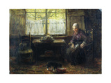 A Cottage Interior Giclee Print by Jozef Israels