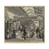 The Victorian Court at the International Exhibition Giclee Print by Joseph Nash