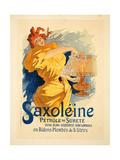 Saxoléine, 1896 Giclee Print by Jules Chéret
