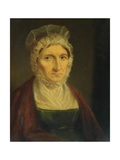 Sarah Large, Wife of Thomas Large of Leeds Giclee Print by Joseph Rhodes