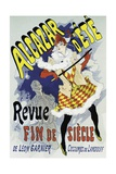 Poster Advertising a Show Giclee Print by Jules Chéret