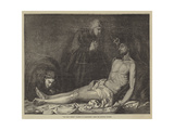 The Dead Christ Giclée-tryk af Jusepe de Ribera