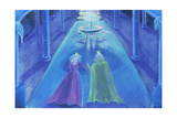 Frog Prince Happily Ever after Giclee Print by Jung Sook Nam