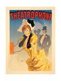 Théâtrophone, 1890 Giclee Print by Jules Chéret