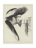 The Jew at Home Giclee Print by Joseph Pennell