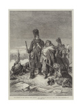 An Episode of the Retreat from Moscow Giclee Print by Joseph-Louis Hippolyte Bellange