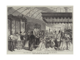 Paris International Exhibition, the English Jewellery Department Giclee Print by Jules Pelcoq