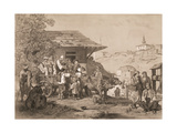 Bulgarians Near Varna, Printed by Lemercier, Paris Giclee Print by Jules Joseph Augustin Laurens