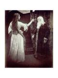 Vivien and Merlin, 1874 Lámina giclée por Julia Margaret Cameron
