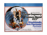 Diamonds are Forever, 1971 Giclee Print by Joseph Werner