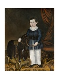 Boy with a Toy Horse, C.1845 Giclee Print by Joseph Whiting Stock