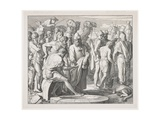 Joseph Being Sold by His Brothers into Slavery, 1852 Giclee Print by Julius Schnorr von Carolsfeld