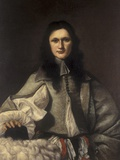 Portrait of Ignác Jetich Vitanovský of Vlkovice, 1669 Photographic Print by Karel Skreta