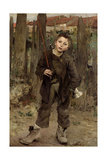 Pas Meche, 1882 Giclee Print by Jules Bastien-Lepage
