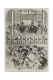 The Imperial Tribune before the Race for the Grand Prix De Paris, at Longchamps Giclee Print by Jules Pelcoq