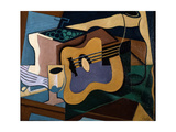 Still Life with Guitar, October-November 1920 Giclee Print by Juan Gris