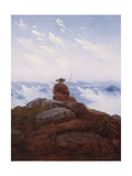 Wanderer on the Mountaintop, 1818 Giclee Print by Karl Gustav Carus