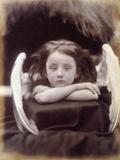 I Wait (Rachel Gurney as an Angel), 1872 Reprodukcja zdjęcia autor Julia Margaret Cameron