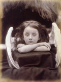 I Wait (Rachel Gurney as an Angel), 1872 Photographic Print by Julia Margaret Cameron