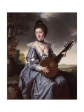 Mrs Robert Gwillym, 1766 Giclee Print by Joseph Wright of Derby