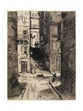 Water Street Stairs, Looking Up, 1881 Giclee Print by Joseph Pennell