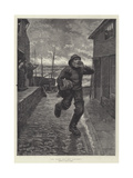 All Hands Man the Life-Boat! Giclee Print by Julius Mandes Price