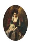 Portrait of the Artist's Wife, Maria Alekseevna Makovskaya (Nee Matavtina) Giclee Print by Konstantin Egorovich Makovsky