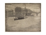 The Thames, 1894 Giclee Print by Joseph Pennell