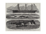 The Wreck of Hm Gunboat Wasp Off Tory Island, Donegal Giclee Print by Joseph Nash